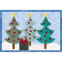 Christmas Forest Mug Rug