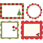 Christmas Quilt Labels 1