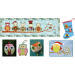 Christmas Owls (Bundle)