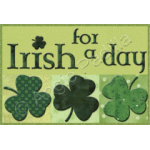 Irish for a Day Mug Rug