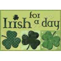 Irish for a Day Mug Rug