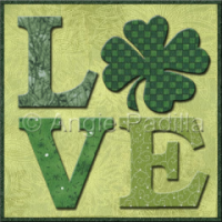 Irish Love Mug Rug