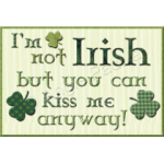 Not Irish Mug Rug