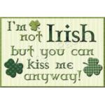 Not Irish Mug Rug