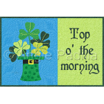 Top o' the morning Mug Rug