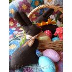 Chocolate Easter Bunny Table Runner & Chocolate Bunny Softies