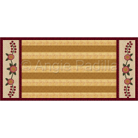 Country Roses Table Runner