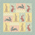 Easter Bunnies Lap Quilt
