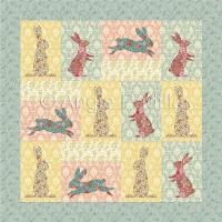 Easter Bunnies Lap Quilt