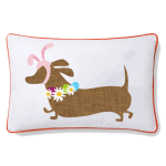 Easter Dachshund Cushion Cover