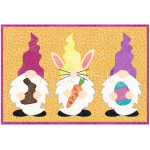 Easter Gnomes Mug Rug