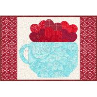 Cup of Hearts Mug Rug