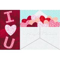Love Letter Mug Rug