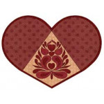 Valentine Heart Placemat