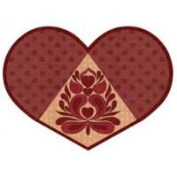 Valentine Heart Placemat