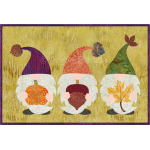 Autumn Gnomes Mug Rug