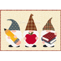 Back to School Gnomes Mug Rug