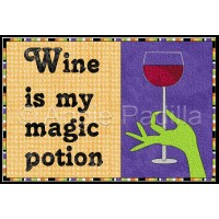 Wine is my Magic Potion