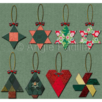 Eight EPP Ornaments