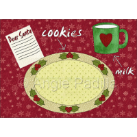 Cookies for Santa Placemat