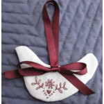 Christmas Dove Ornament