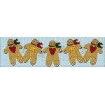 Gingerbread Boys Table Runner