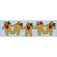 Gingerbread Boys Table Runner