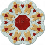 Gingerbread Candle Mat
