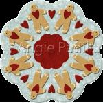 Gingerbread Candle Mat