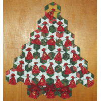 Hexagon Tree Advent Calendars