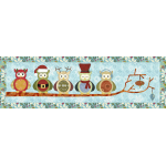 Happy Owlidays Table Runner