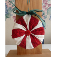 Peppermint Kiss Ornament