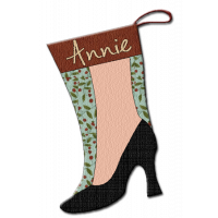 Little Black Pump Stocking