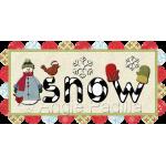 Snow Table Runner