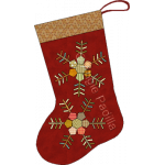 Hexie Snowflake Stocking
