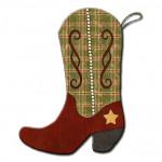 Cowboy Boot Stocking