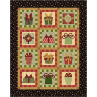 Christmas Gifts Lap Quilt