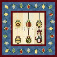 Christmas Ornaments Wall Hanging
