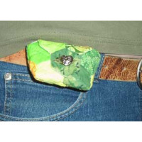 Quick Quilted Belt Pouch