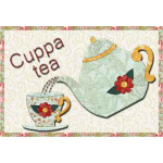 Cuppa Tea Mug Rug