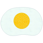 Fried Egg Placemat