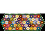 Hexagon Flower Garden