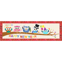 New Year's Party Owls
