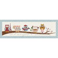 I Love Paris Owls
