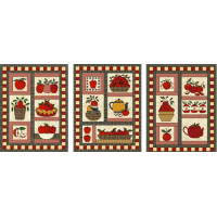 Trio of Apple Patterns (bundle)