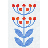 Scandinavian Flowers - Block 3
