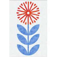 Scandinavian Flowers - Block 5