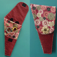 3-Pocket Scissors Case