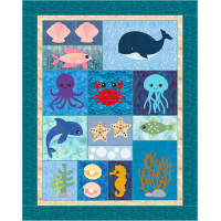 Under the Sea Crib Quilt
